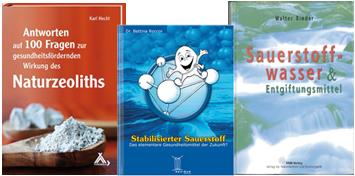 Fachliteratur: Zeolith Pulver und Sauerstoffwasser