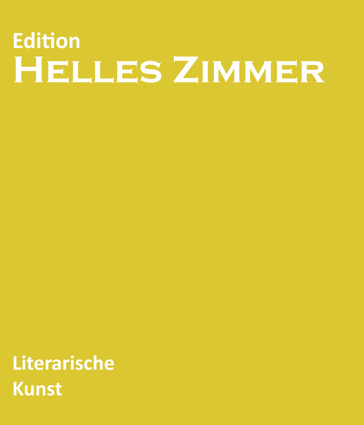 Seh-Sam-Verlag - Edition -HellesZimmer